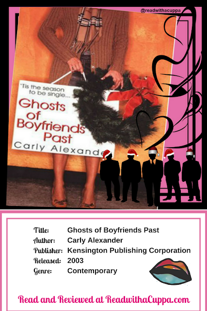 Read the book review for Ghosts of Boyfriends Past by Carly Alexander at https://www.readwithacuppa.com/2018/06/book-review-ghosts-of-boyfriends-past.html