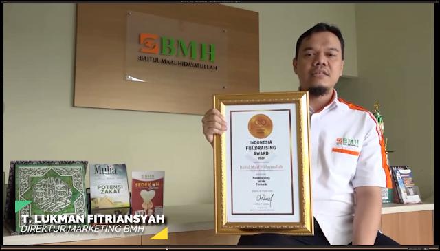 Kategori Fundraising Infaq Terbaik: Baitul Maal Hidayatullah