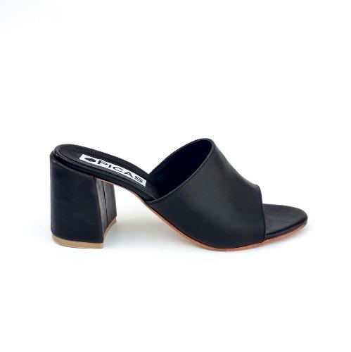 ed64bb50 Sandalia Sueco Taco Bajo Mujer Zueco Verano - 2018 - Zapatos taco alto