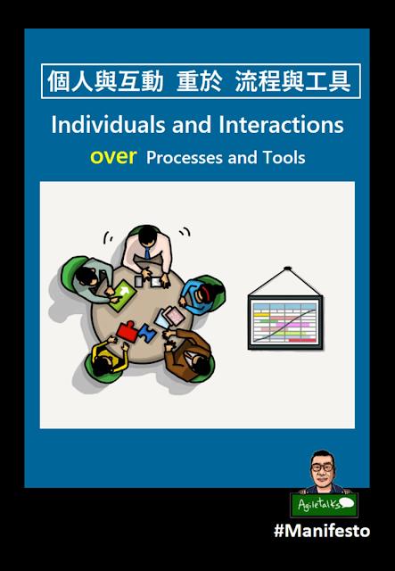 個人與互動重於流程與工具
