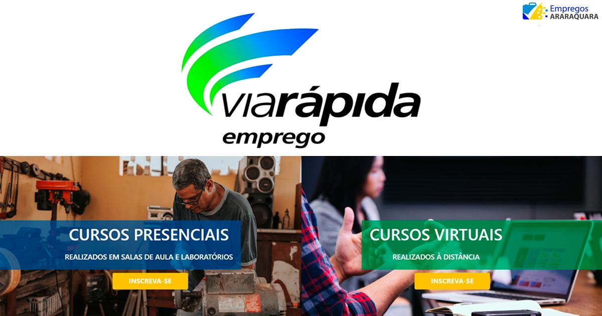 Governo de SP oferece 20 mil vagas para cursos gratuitos