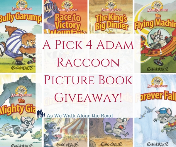 Adam Raccoon book giveaway