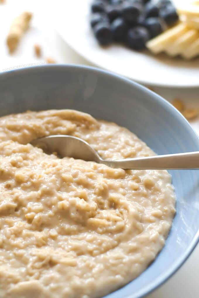 Porridge in 15 minutes | danceofstoves.com