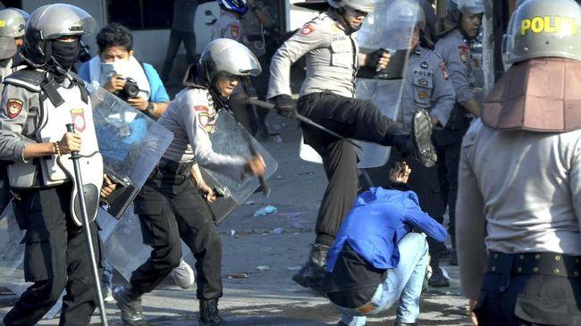 Polisi Pemukul Mahasiswa Dijatuhi Sanksi Disiplin