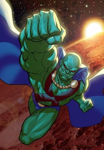 Martian Manhunter es un héroe de la Justice League