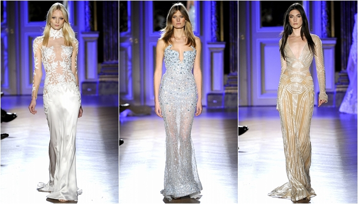 Haute Couture spring 2012 Zuhair Murad dress collection