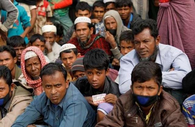 रोहिंग्या मुस्लिमो को बांग्लादेश ने द्वीप पर भेजा