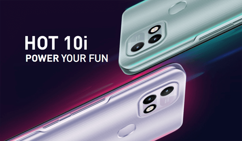 Top 5 features of the Infinix HOT 10i
