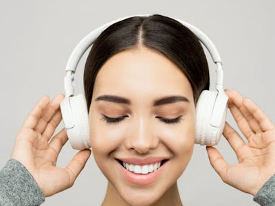 Listening to music helps the brain to relax and release happy hormones