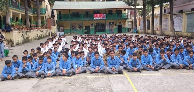 आनी के आदर्श विद्यालय ने जमा एक के छात्रों की ऑनलाइन डिजिटल शिक्षा के लिए  जानकारी जुटानी की शुरू