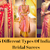 5 Different Types Of Indian Bridal Sarees