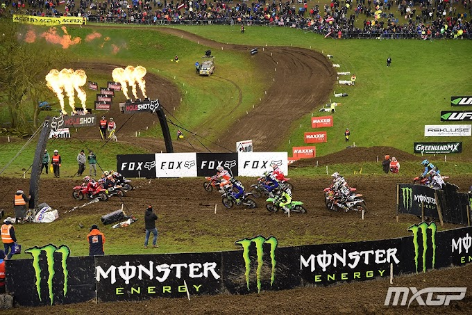 Jeffrey Herlings e Tim Gajser vencem na Inglaterra na abertura do MXGP