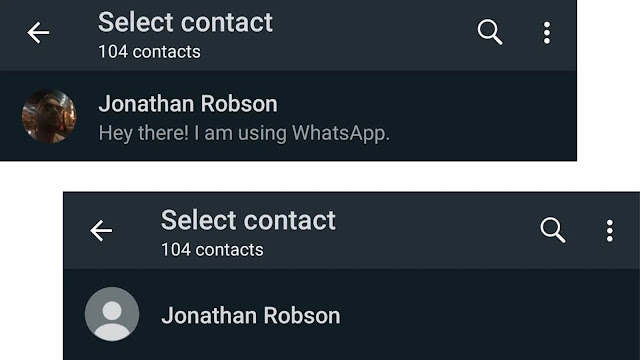 صورة WhatsApp مفقودة