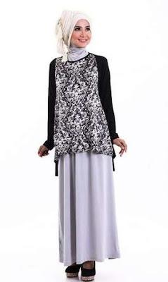 Trend Baju Batik Kombinasi Remaja