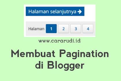 Cara Membuat Halaman Selanjutnya di Artikel Blogger