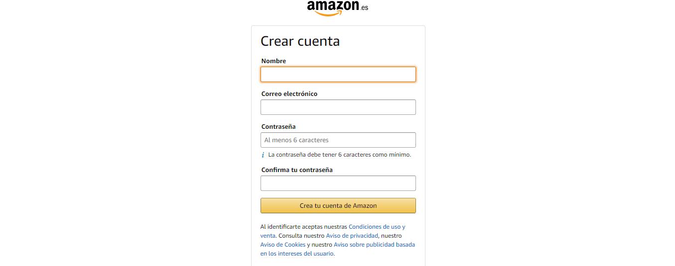 COMO REGISTRARSE EN AMAZON DE MANERA GRATUITA