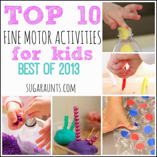 Best Fine Motor Activities for Kids