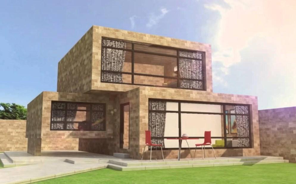 gambar rumah minimalis 2 lantai - Contoh desain rumah 2 lantai terbaru