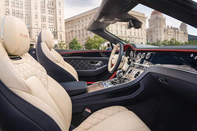 Bentley Continental GT 2021 Mulliner estreia em St Tropez