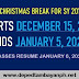 DepEd sets early Christmas break for SY 2019-2020