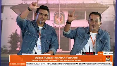 KPU Tetapkan Bobby Nasution-Aulia Rachman Pemenang Pilkada Medan