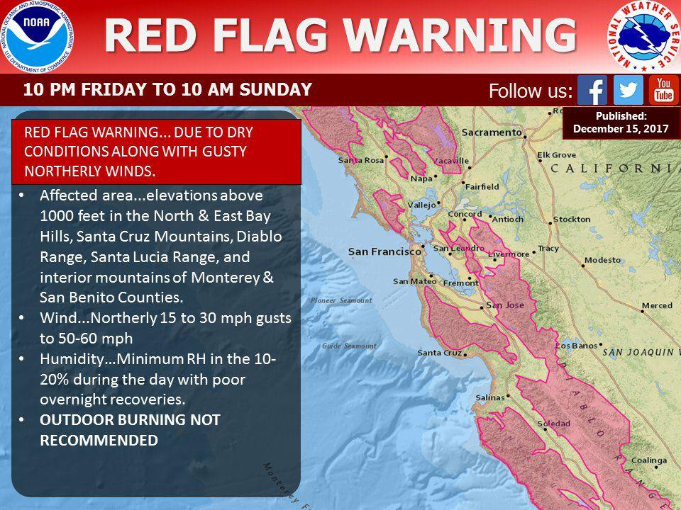 Santa Cruz Mountain Fire Map.Cfn California Fire News Cal Fire News 12 1 17