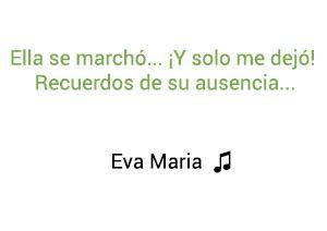 Eva María Formula V significado de la canción.
