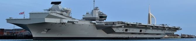 Warship Queen Elizabeth To Conduct KONKAN War Games In Bay of Bengal With Indian Navy In July