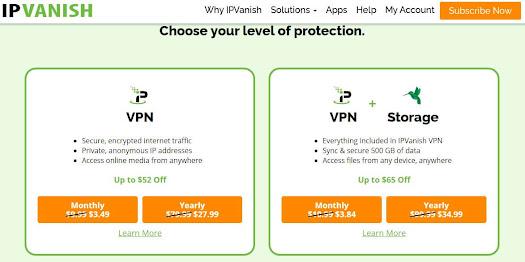 IP Vanish τιμή