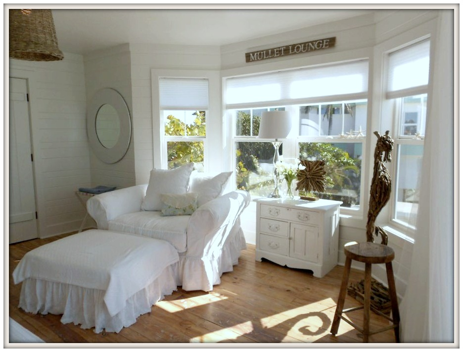 Bedroom Sitting Area-Serendipity I- Ana Maria Island Rental- From My Front Porch To Yours