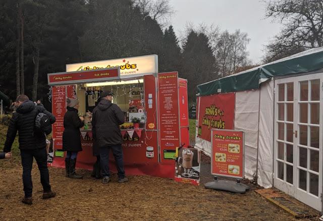 Dinky Doughnuts at Kielder Winter Wonderland