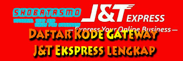 Kode Gateway J&T Express dan Keterangan Kota Lengkap