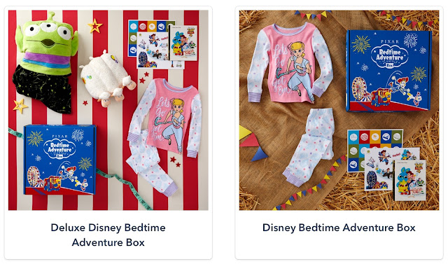 Pixar Bedtime Adventure Subscription Box Bo Peep
