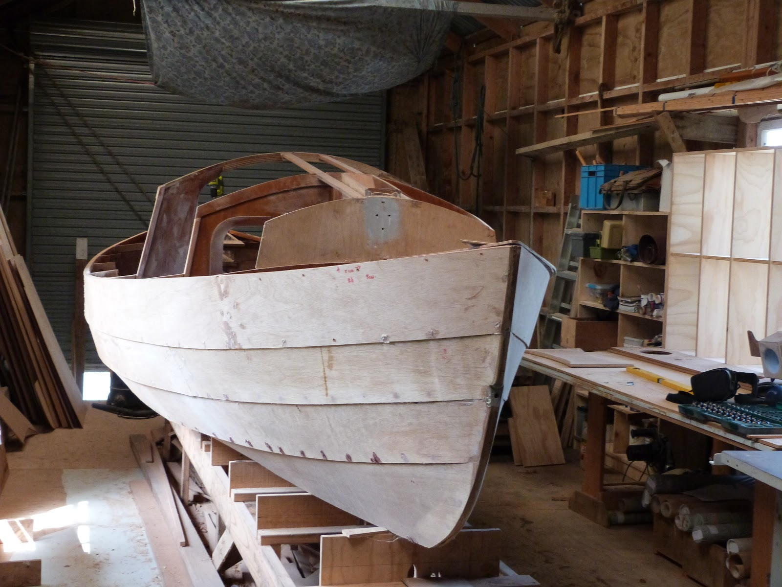 jwboatdesigns Progress on Long Steps work on the ship and grumbles