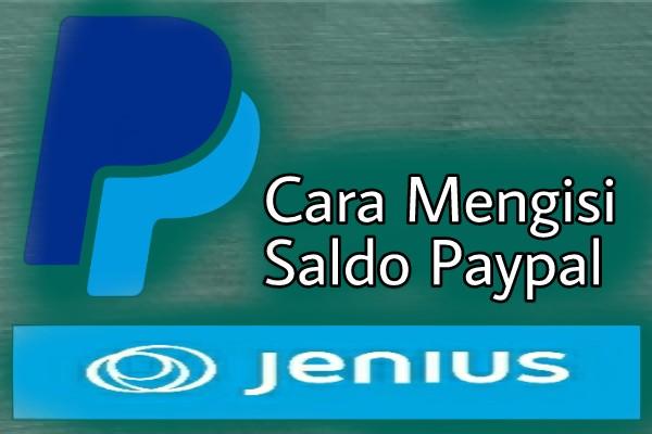 Cara Mengisi Saldo Paypal Dengan Kartu Jenius
