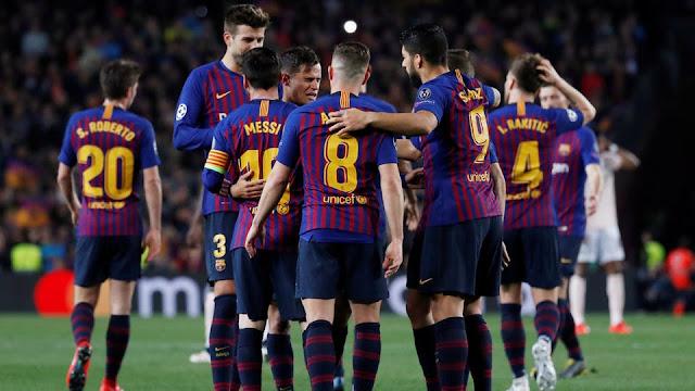 تشكيل برشلونة ضد فيسيل كوبى عبر سوفت سلاش