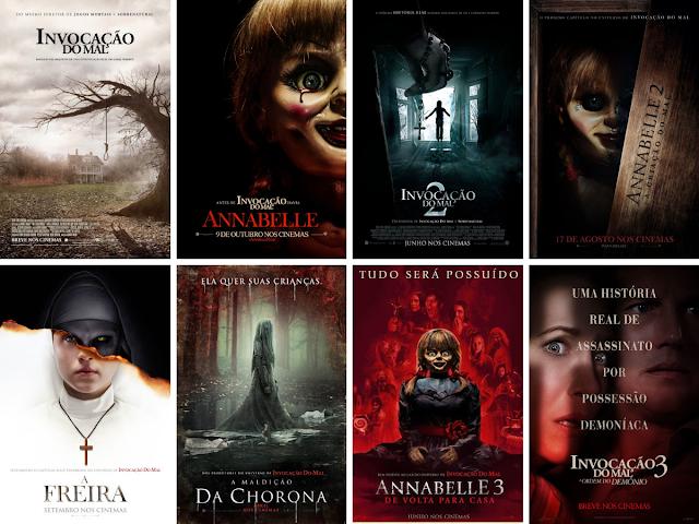 Assista os filmes do InvocaVerso em ordem cronológica!
