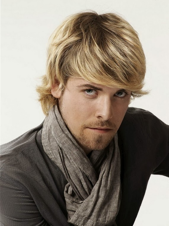 Blonde Highlights On Black Hair Men Hair And Tattoos