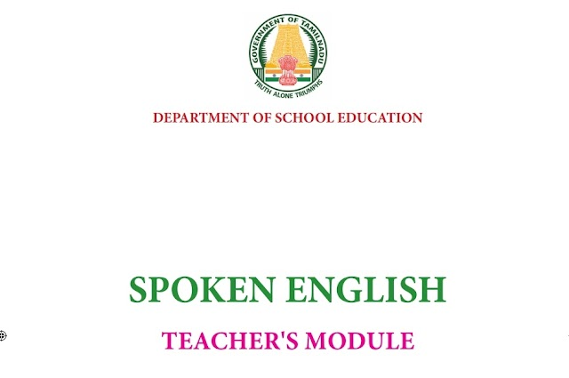 6,7,8 th Spoken English Teachers Module