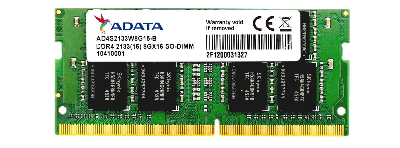 ADATA DDR4 2133 SO-DIMM Memory