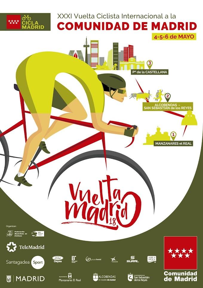 Todo preparado para que comience la XXXI edición de la Vuelta Ciclista a la Comunidad de Madrid