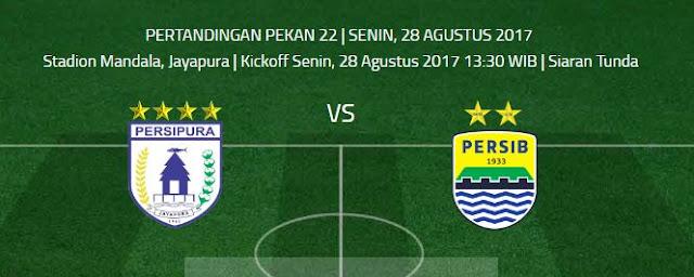 Persipura vs Persib Bandung Siaran Tunda, Tidak Siaran Langsung tvOne