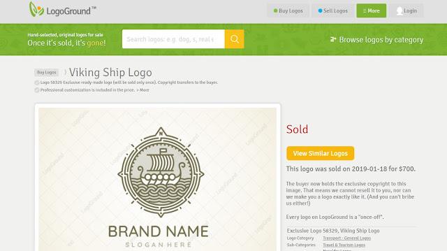 Menghasilkan Hingga Ratusan Hingga Ribuan Dollar dari Jual Logo Di Logo Ground