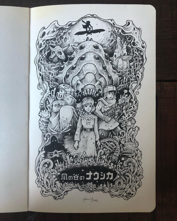 02-Studio-Ghibli-2-Kerby-Rosanes-www-designstack-co