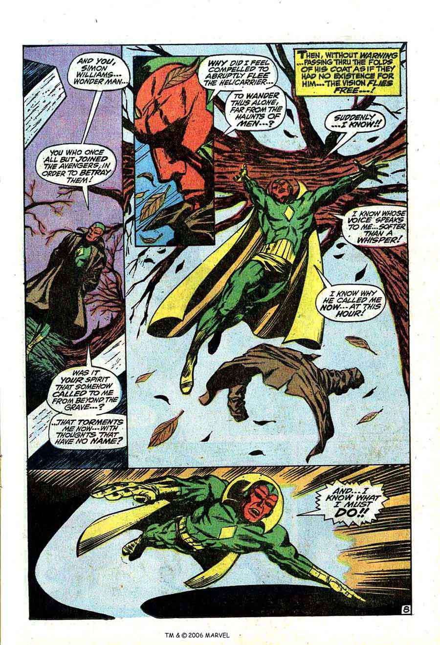 Avengers v1 #66 marvel comic book page art by Barry Windsor Smith