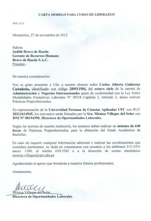 Carta de presentación de Wallaroo Slacklines CARLOS GUTIERREZ