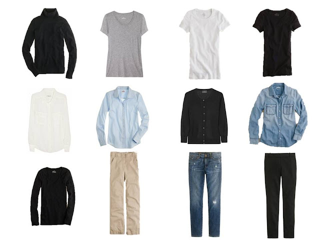 12 piece basic neutral capsule wardrobe, Minimalist Wardrobe, common wardrobe, basic wardrobe, 12-piece wardrobe