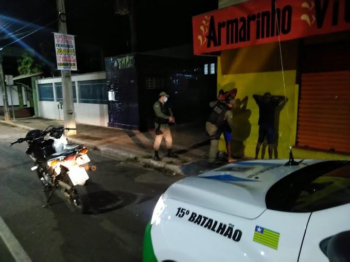 Polícia intensifica abordagens em Campo Maior recupera motos roubadas