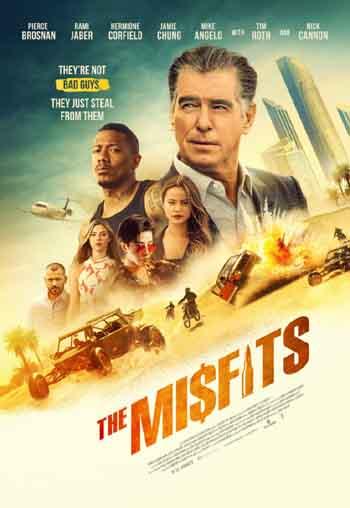 The Misfits 2021 480p 300MB BRRip Dual Audio [Hindi - English]