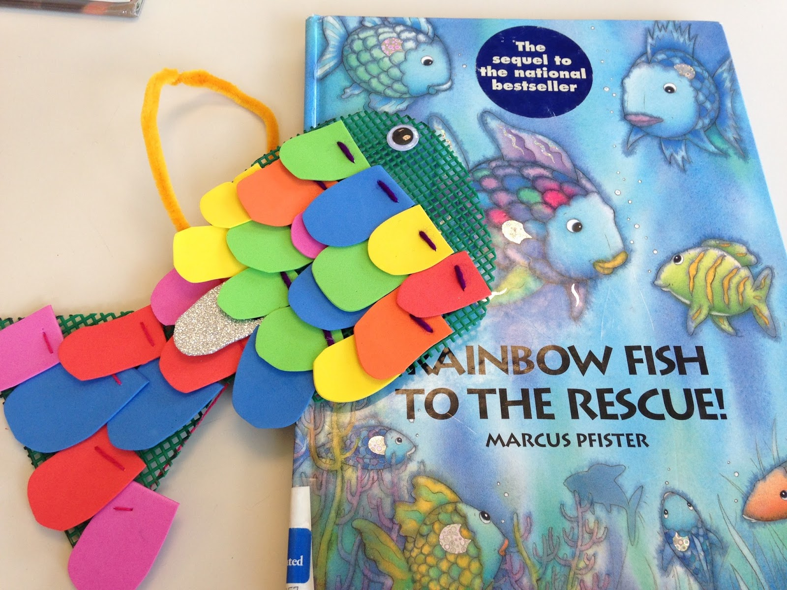 Sewing School Rainbow Fish
